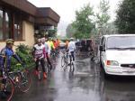 Gruppeneinteilung und schon startete man zur Swiss Alpen Ride