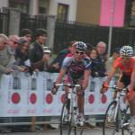 Giro di Lombardia - Philippe Gilbert und Samuel Sanchez belauern sich kurz vor dem Ziel
