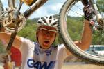 Geschafft: Der Schweizer Urs Huber gewinnt die Crocodile Trophy 2009 (Foto: crocodile-trophy.com)