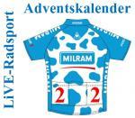 Cyclistmas bei Live-Radsport: Adventskalender, 2. Dezember