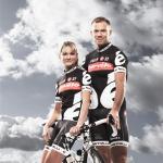 Claudia Häusler und Thor Hushovd (Quelle: Cervélo TestTeam)