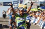 Danilo di Luca hat allen Grund zum Jubeln (Quelle: http://www.lavuelta.com)