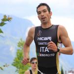 Jonathan Ciavatella siegt beim Kalterer See Triathlon.