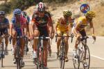 Valverde sucht seine Konkurrenten (Fotoquelle:http://www.lavuelta.com)