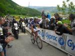 Giro d´Italia, Etappe 13 - Vladimir Karpets allein auf der Verfolgung (© LiVE-Radsport.com)