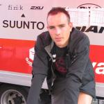 John Degenkolb auf der Rolle nach Rennende (© LiVE-Radsport.com)
