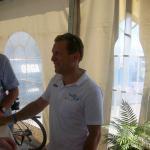 NetApp Sportdirektor Jens Heppner beim Interview am Rande der deutschen Meisterschaft (© LiVE-Radsport.com)