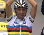 Paolo Bettini der weinende Sieger