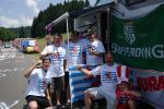 Tour de France 7. Etappe - Fans aus Luxemburg an der Cote de Lamoura