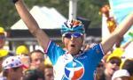 Pierrick Fedrigo gewinnt auf der 16. Etappe der Tour de France im Sprint einer Ausreißergruppe (Foto: www.letour.fr)