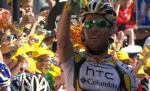 Mark Cavendish gelingt auf der 18. Etappe der Tour de France seint vierter Etappensieg (Foto: www.letour.fr)