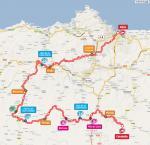 Streckenverlauf Vuelta a España 2010 - Etappe 16