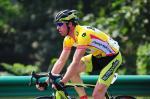 Dirk Müller im Gelben Trikot, 2. Etappe Tour China 2010, Foto: Foto: www.bikeman.org
