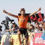 Mikel Nieve feiert ersten Profi-Sieg bei Vuelta-Bergankunft - Rodriguez stürzt Nibali von Platz 1