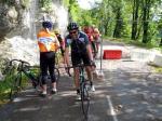 Route Barré - Velofahrer wissen sich zu helfen