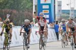 Aaron Kemps gewinnt den Massensprint, 3. Etappe Tour of China, Foto: www.bikeman.org