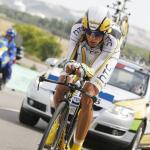 Überraschungssieg für Peter Velits im Vuelta-Zeitfahren, Vincenzo Nibali trotz Defekt neuer Leader