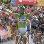 Cavendish feiert dritten Vuelta-Etappensieg knapp vor Haedo