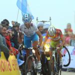 Ezequiel Mosquera konnte die Etappe auf der Bola del Mundo gewinnen, Vincenzo Nibali sicherte sich aber den Gesamtsieg (Foto: Veranstalter)