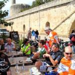 Kaffeehalt in Aigues Mortes