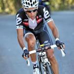 Carlos Sastre bei der Vuelta a España am Alto de Cotobello (Foto: Veranstalter)