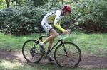 Heinrich Berger auf dem Crossrad