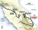 Die Strecke von Tirreno-Adriatico 2011