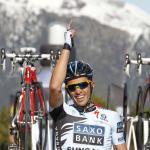 Alberto Contador souveräner Sieger der Bergankunft in Andorra