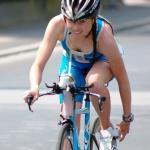 Die Profi-Triathletin Christine Waitz (Foto) geht unter die Blogger (Foto: Roland Hindl)