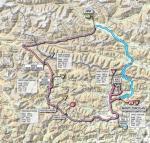 Streckenverlauf Giro d´Italia 2011 - Etappe 14