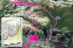 Streckengrafik von Fight for Pink