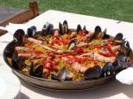 Am Freitag zum Abschluss eine Paella