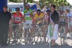 Circuit Lorraine - 4. Etappe - Präsentation der Wertungstrikotträger am Start in Baccarat