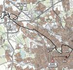 Giro d´Italia, Etappe 21: Die neu Strecke des finalen Zeitfahrens in Mailand