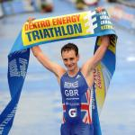 Alistair Brownlee gewinnt das ITU World Championship Series-Rennen in Kitzbühel (Foto: Triathlonverein Kitzbühel)