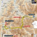 Streckenverlauf Tour de France 2011 - Etappe 19
