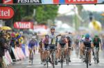 Auf der 11. Etappe gelingt Mark Cavendish sein dritter Sieg bei der Tour de France (Foto: www.letour.fr)