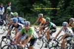 Criterium du Dauphiné - 6. Etappe - das Gruppetto um John Degenkolb auf dem Weg ins Ziel nach Le Collet d´Allevard