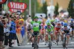 Mark Cavendish war auf 15. Etappe der Tour de France im Massensprint nicht zu bezwingen (Foto: www.letour.fr)