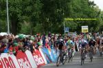 Tour de Suisse - 8. Etappe - Zielsprint in Schaffhausen (2. von links der Etappensieger Peter Sagan)