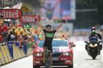 Nach seinem zweiten Platz gestern gewinnt Edvald Boasson Hagen die 17. Etappe der Tour de France 2011 (Foto: www.letour.fr)