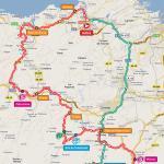 Streckenverlauf Vuelta a España 2011 - Etappe 15
