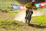 Spannendes Weltcupfinale in Val di Sole: Floriane Pugin Zweite des Tages und des Gesamtweltcups (Foto: Sven Martin)