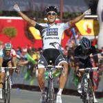 Durcheinander im Massensprint: Haedo gewinnt 17. Vuelta-Etappe