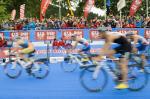 Die Elite-Herren 2011 in der Wechselzone 2011 (Foto: Triathlonverein Kitzbühel)