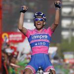 Francesco Gavazzi gewinnt die 18. Etappe der Vuelta a España vor Kristof Vandewalle