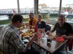 Mittagszeit ist Essenszeit-Am Kanal in Le Grau du Roi