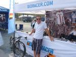 Jens Heppner beim Münsterland Giro vor dem Stand von Bioracer (Foto: Stefan Dechert/LiVE-Radsport.com)