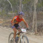 Jeroen Boelen auf dem Weg zum vierten Etappen- und ersten Gesamtsieg (Foto: Crocodile Trophy 2011)