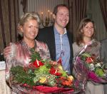 Christian Prudhomme bedankte sich bei Ursula Riha für die Kongressorganisation (Foto: Hans Prammer)